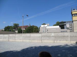 27 juli, Berlijn, niet alleen de vogels vliegen vrij van oost naar west